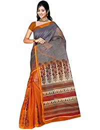 Vastrang Women's Latest Super NET Party Wear Saree(Multicolor_7K66)