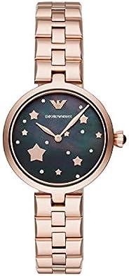 ساعة امبريو ارماني انالوج كوارتز للنساء AR11197