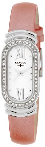 Elysee Women's Quartz Watch 28383 with Leather Strap