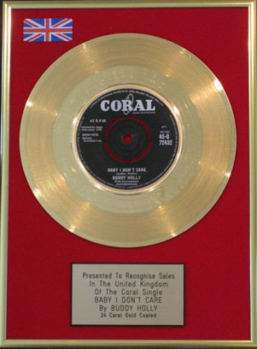 Preisvergleich Produktbild 'Buddy Holly – 7 Gold disc- Baby I Don' t Care