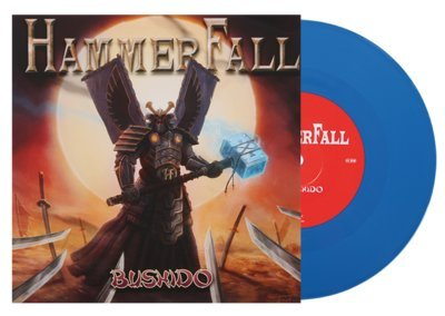 HAMMERFALL, Bushido BLUE VINYL - 7