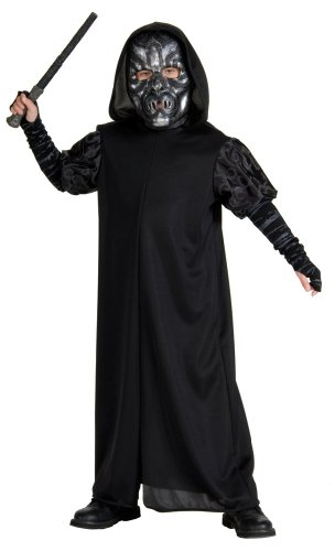 Harry Potter Child's Death Eater Costume, Large by Rubie's