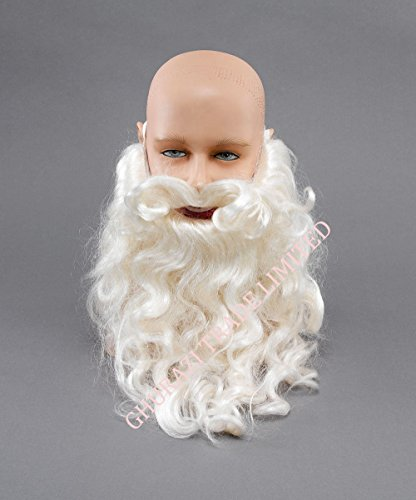 Santa-Claus-Father-Christmas-Beard-10-Christmas-Fancy-Dress-Costume-Accessory