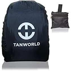 Tanworld Rain & Dust Cover with carrying Pouch for upto 50 Ltrs Laptop Bags And Backpacks