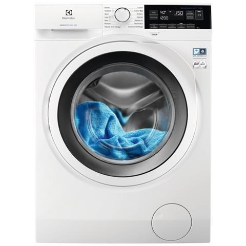 Electrolux EW6F382W machine à laver Autonome Charge par-dessus Blanc 8 kg 1200 tr/min A+++ - Machines à laver (Autonome, Charge par-dessus, Blanc, Rotatif, Tactil, Gauche, LCD)
