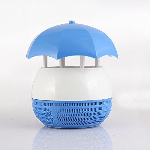 NING-NMC Mosquito Killer/Umwelt-/Mosquito Control Lampe/LED/Haushalt, Fallschirm Blau (Blau Fallschirm)