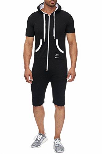 BELLIS® Herren Jumpsuit Jogger Jogging Anzug Trainingsanzug Overall / S-XXXL / T-00014