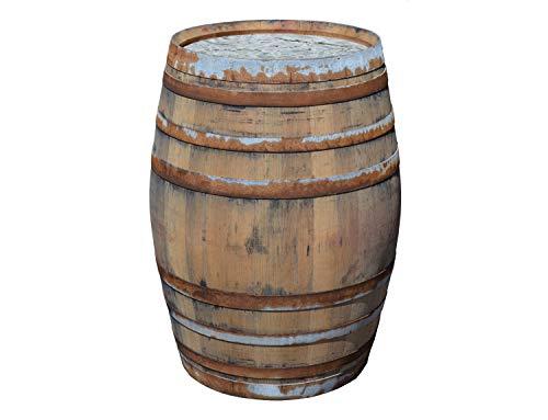 Nosotros le ofrecemos una barrica de madera maciza como depósito para el agua de lluvia, por lo que dispone de una capacidad para 225 litros. Al ser empleado como un depósito para el agua es lo mejor que usted puede hacer por mantener la impermeabili...