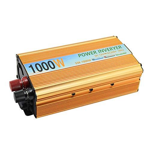 Tragbarer Inverter 12 V auf 220 V Spitzenleistung, 1000 W Wechselrichter, Kfz-Netzteil, Ladegerät, Konverter, Adapter, Wechselrichter, 12 V, 220 V Xantrex-ladegerät