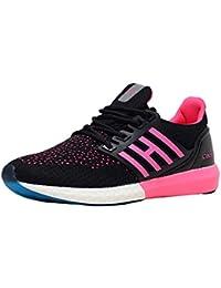 93debd4004ffa4 calcetto Lucy Black Fuschia Women Sports Running Shoe