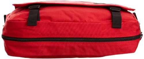 Eastpak Delegate Borsa Messenger, 20 litri, Multicolore (Brize Bw), 38 cm Rosso (Rosso)
