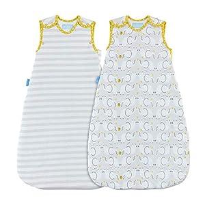 Grobag – Saco de dormir, diseño de elefante Talla:0-6 meses