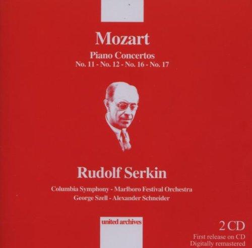 MOZART - Piano concertos 11, 12, 16, 17