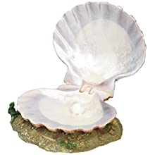 Trixie Polyester Resin Fish Tank Sea Shell with Air Outlet, 15 cm