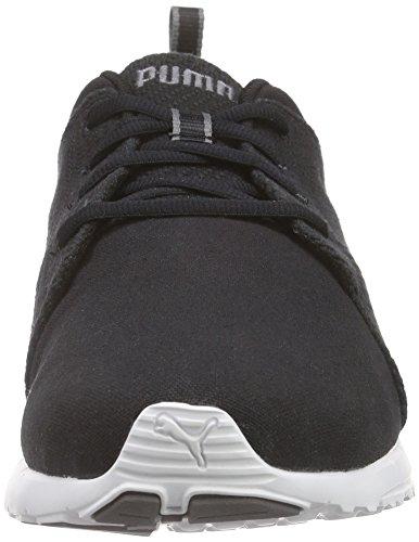 Puma Carson Runner Cv Unisex-Erwachsene Laufschuhe Schwarz (black-white-steel gray 07)