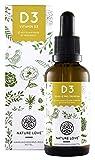 NATURE LOVE Vitamin D3 - Vielfacher Sieger 2019* - 5000 IE pro Tropfen - Premium: sehr hohe...