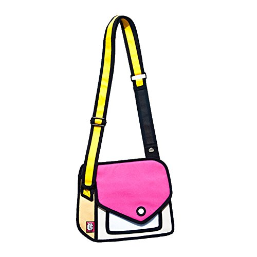 botetrade-cartoon-shoulder-satchel-bag-hobos-unique-fun-3d-jump-style-2d-drawing-from-cartoon-paper-