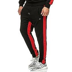 Red Bridge Hombre Pantalones con Rayas Relax Gym Deportivo Jogger