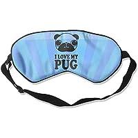 I Love Pug 99% Eyeshade Blinders Sleeping Eye Patch Eye Mask Blindfold For Travel Insomnia Meditation preisvergleich bei billige-tabletten.eu