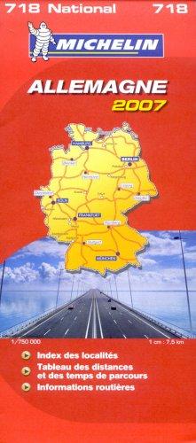 Allemagne : 1/750 000