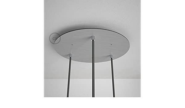 Lampenbaldachin Ø100 x 23mm Metal Lampen Baldachin Neu