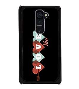 Love 2D Hard Polycarbonate Designer Back Case Cover for LG G2 :: LG G2 D800 D802 D801 D802TA D803 VS980 LS980