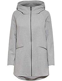 Only Onlnala Ruby Hooded Spring Coat Otw, Abrigo para Mujer