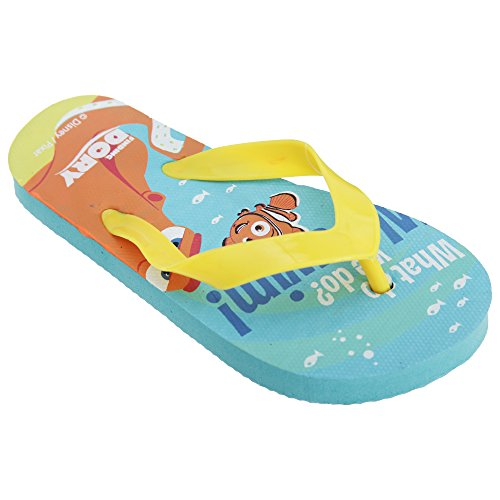 Disney Finding Dory Childrens/Kids Toe Post Flip Flops