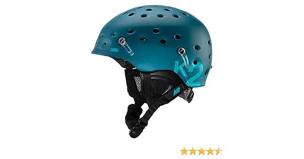 K2 1044103.1.3 Casque de Ski pour Homme Route Vert