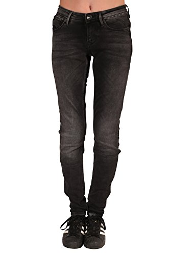 Garcia Damen Stretch-Jeans RIVA 203-2249 Super Slim Black Rock: Weite: W25 | Länge: L30 -