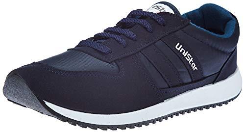 Unistar Men's Blue Running Shoes-8 UK/India (42 EU) (E-033)