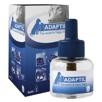4 X Adaptil Diffuser Refill Dog Appeasing Pheromone 48ml by CEVA Tiergesundheit