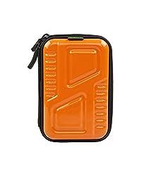 SmartFish [ARMOUR] 2.5 inch Hard Disk Drive case cover For Sony, Toshiba, Hitachi, WD (Western Digital), Buffalo, Dell, HP, Transcend, Seagate, Adata (Orange)