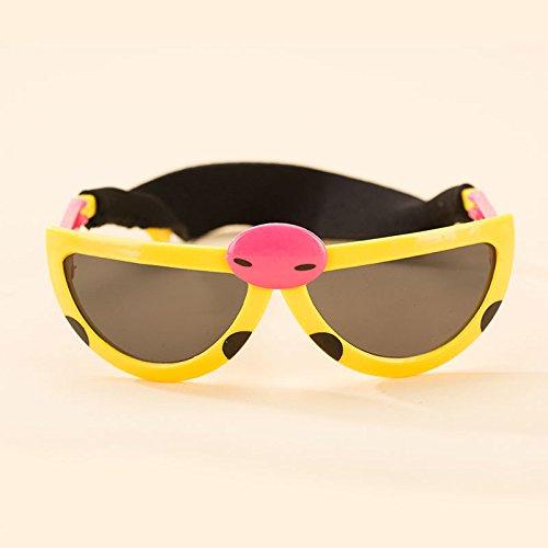Aprigy - Mode Gl?Ser Haustier Hund Katze Brille Hund Augenverschlei?Schutz Hund Nette k¨¹hle Haustier-Hundebrillen Tierzubeh?r Pet Supplies [Gelb ]