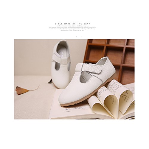 Flache 35 Tanzschuhe Studenten Schuh Maedchen Kleinkind 21 amp;N weiche Schuhe Sohle Freizeitschuhe Lederschuhe Schuhe Wei Prinzessin O Zxq7TU1WwU