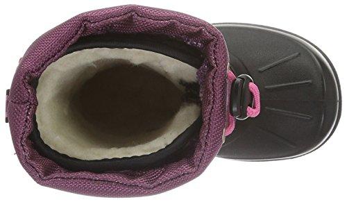 Viking Unisex-Kinder Stalis Schneestiefel Pink (Black/Lilack 275)