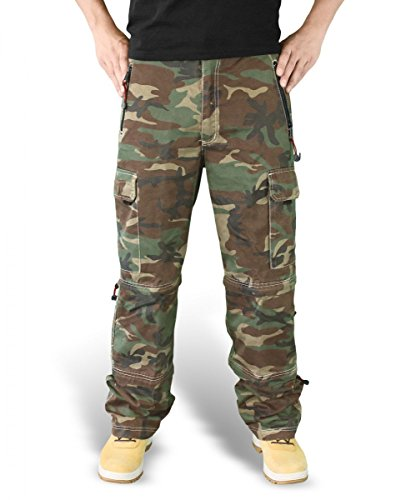 Surplus - Pantalon - Cargo - Monochrome Homme Woodland