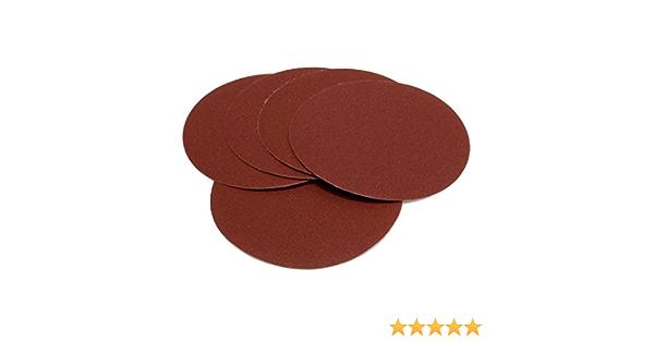 Woltersberger senza foro Dischi abrasivi colore: Rosso /Ø 180 mm