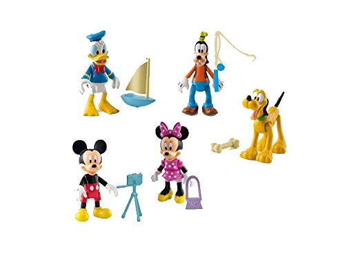 Personaggi Articolati In Blister Da 5 Mickey Mouse Club House