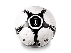 Idea Regalo - Mondo- F.C. Juventus Pallone da Calcio, Colore Bianco/Nero, 5, 8001011137206