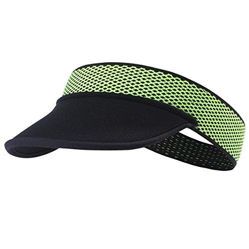 TOFERN Visor Cap Kappe Unterziehmütze faltbar tragbar elastisch Sommer Laufen Tennis Angeln, Visor6