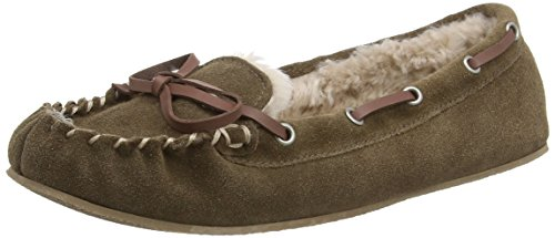 Ruby and Ed Suede, Chaussons femme Marron - Brown (Moose)