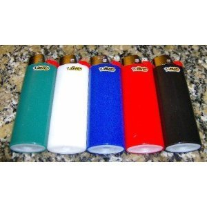 lot-of-5-bic-classic-assorted-colours-full-size-lighters