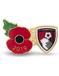 The Royal British Legion AFC Bournemouth Poppy Football Pin 2019