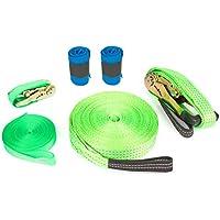 Small Foot 10476 - Slackline Set inklusiv Baumschutz, Spiel