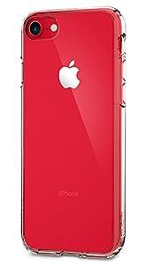 Funda iPhone 7, SPIGEN® [Ultra Hybrid] Tecnología de amortiguación de aire y protección híbrida contra caídas para iPhone 7 2016 - Transparente