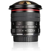 Meike–8mm F3.5Ultra HD lente de ojo de pez para cámara réflex digital Nikon, fixed-non-zoom lente