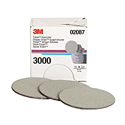 3M Trizact 3-inch Foam Disc Grit P3000 (2 Pieces)