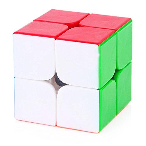 emob 2x2 high speed stickerless speedy rubik magic puzzle cube,multi color - 419d7kQV 9L - EMOB 2X2 High Speed Stickerless Speedy Rubik Magic Puzzle Cube,Multi Color