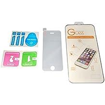 Membrana de acero - TOOGOO(R)Superior protector de pantalla de vidrio templado real de 0,33mm 9H para iphone4S/4